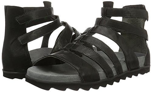 Black Think Gladiator kombi sz 09 Women''s Sandals Pomali SqwrHnTq1
