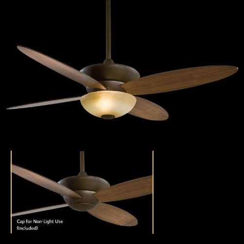 Minka-Aire F514-ORB Zen 52'' Ceiling Fan with Light & Remote Control, Oil-Rubbed Bronze by Minka-Aire