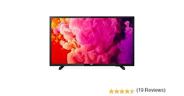 Philips TV Led Ultrafino 32Pht4503-32/80Cm - 1366X768-4:3/16:9-280Cd/M2 - Dvb-T/T2/C - Sonido 16W Rms - 2Xhdmi - 1Xusb -Vesa 100 - Negro: Philips: Amazon.es: Electrónica