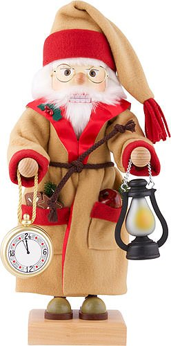 German Christmas Nutcracker - Father time Limited - 46cm / 18 inch - Christian Ulbricht by Authentic German Erzgebirge Handcraft