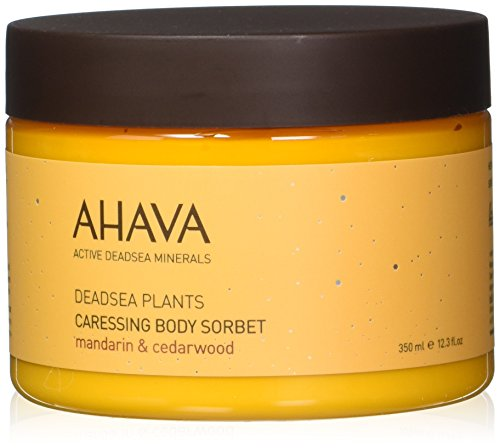 AHAVA Dead Sea Plants Caressing Body Sorbet, 12.3 fl. oz.