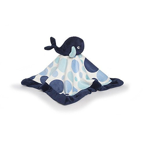 Kidsline 6 Piece - Carter's Security Blanket, Blue Whale (Discontinued by Manufacturer)