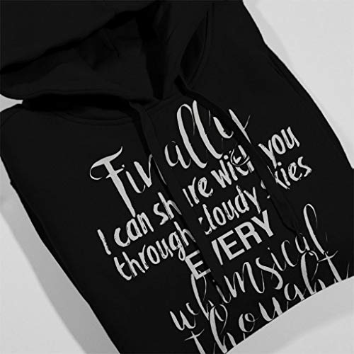 Like Hooded Song Women's Fun She Look Sweatshirt Turner Black Alex Lyrics xPCqpp