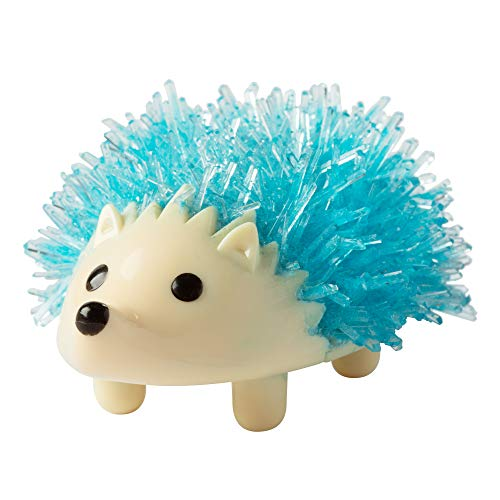 Fat Brain Toys Crystal Growing Hedgehog - Blue Maker & DIY Kits for Ages 10 to 12
