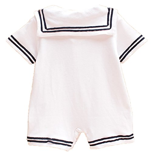 Ma&Baby Boy Girl Romper Jumpsuit Bodysuit Anchor Sailor Clothes Outfits