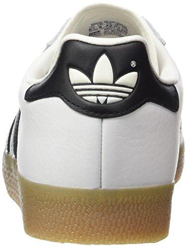 gum Blanco core Adidas Tobillo Bajo Hombre Super Black vintage Gazelle White Hggxvnwf