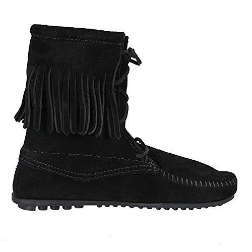 brown Hi Ankle Donna Minnetonka Boot Stivale Marrone Tramper Da q8wnz6xEZ
