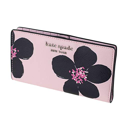 Kate Spade New York Large Slim Bifold Wallet Grand Flora