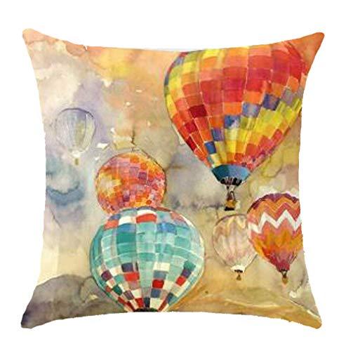 hot air balloon pillow - 1