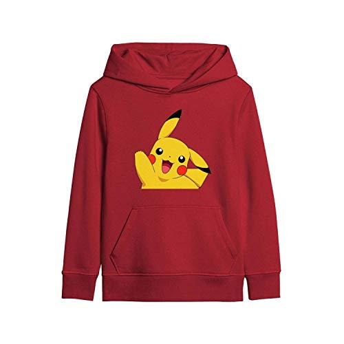 MAVCUT Graphic Kids Hoodie Boys Sweatshirt Cotton Girl Fashion Youth Pullover (Best Pokemon Iv Calculator App)