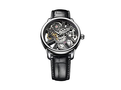 - Maurice Lacroix Masterpiece Skeleton Watch, ML134, Crocodile, MP7228-SS001-000-2