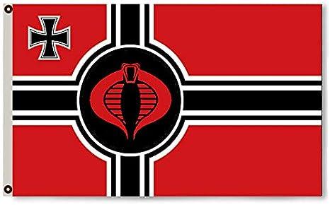 Annfly G.I.Joe Cobro - Bandera Alemana para Hombre, 91 x 152 ...