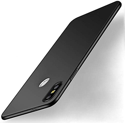 WOW Imagine All Angle Protection 360 Degree Ultra Slim Lightweight Rubberised Matte Hard Case Back Cover for XIAOMI MI REDMI Note 5 PRO   Pitch Black