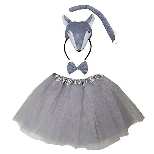 Kirei Sui Wolf 3D Costume Tutu Set