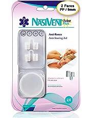 NASIVENT PREMIUM - Anti-Ronco - Dilatador Nasal - Kit Inicial com 5 Tamanhos - Inovação única de trava patenteada - Em silicone medicinal de altíssima qualidade