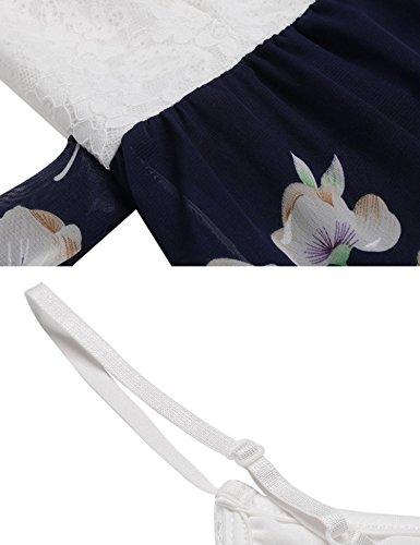 cooshional - Vestido - para mujer Weiß
