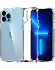 Spigen Compatible for iPhone 13 Pro Max Case Ultra Hybrid - Crystal Clear