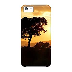 With For Iphone 5c- Tree PC iphone series covers miao's Customization case