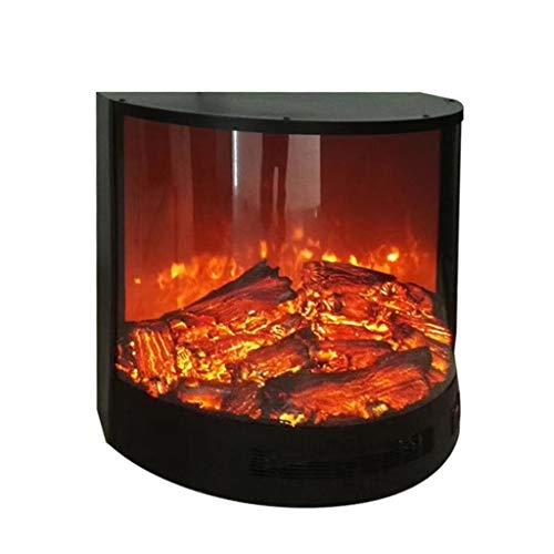 Best Buy Liu Weiqin Electric Fireplace - Fireplace core Simulation Flame Fireplace - Decorative semi-Cylindrical core Reviews