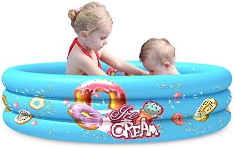 Mafiti Piscina Inflable Infantil. Piscina de Agua para niños, Material plástico Ideal para bebés y niños y niñas pequeños. Tamaño 110 x 30 cm: Amazon.es: Electrónica