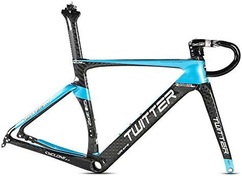Cuadro de bicicleta de carretera, horquilla de fibra de carbono ...