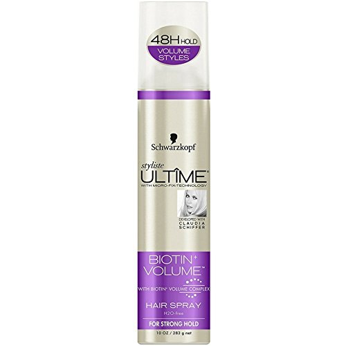 Schwarzkopf Ultime Styliste Biotin Volume Hair Spray 10 oz Pack of 2