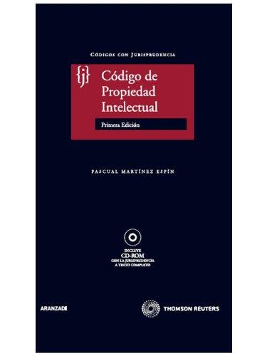 Código de Propiedad Intelectual: Incluye CD Código con Jurisprudencia: Amazon.es: Pascual Martinez Espín: Libros