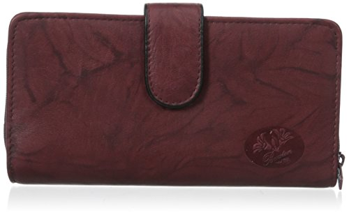 Price comparison product image Buxton Heiress Wallet Checkbook Case,  Burgundy,  One Size