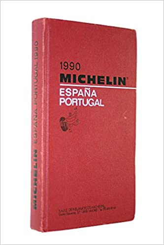 Michelin Red Guide 1990: Espana, Portugal Idioma Inglés: Amazon.es: Michelin Travel Publications: Libros en idiomas extranjeros