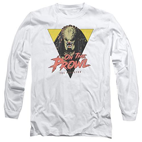 Predator 2018 On The Prowl Unisex Adult Long-Sleeve T Shirt for Men and Women -
