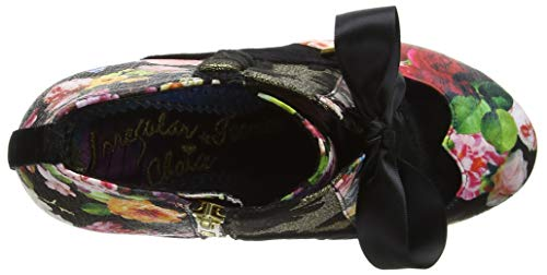 Noir Elfglow Choice Bottines Metallic Femme S Blair black Floral Irregular 4BAqv7w
