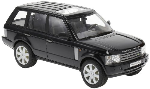 2003 Land Rover Range Rover Black 1/24 by Welly 22415 (Model Range Rover)