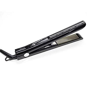 Amazon com : SODIAL J109 Professional Hair Flat Iron Titanium Plate