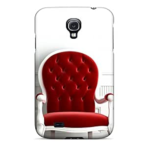 LJF phone case Galaxy S4 Case Cover With Shock Absorbent Protective LpIuJYC3838mjSiW Case