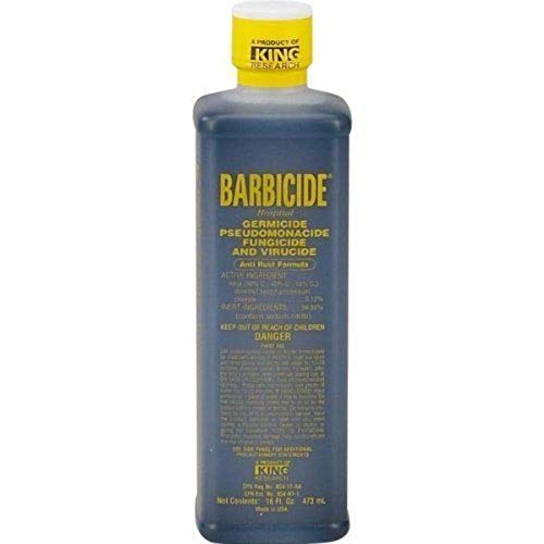 Barbicide Germicide Disinfectant For Barber's Salons and Spa's 16oz