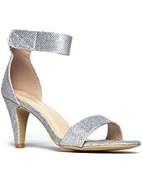 Women's Ankle Strap Open Peep Toe High Heels   Dress,...