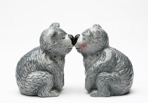 Magnetic Salt and Pepper Shaker - Koala Bears by Pacific Trading