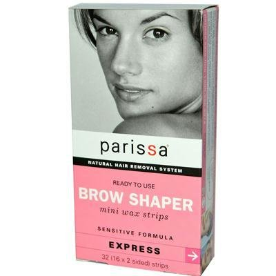 Parissa Natural Hair Removal System Brow Shaper -- 32 Strips - 2pc by Parissa - Formula Hair Removal System Wax