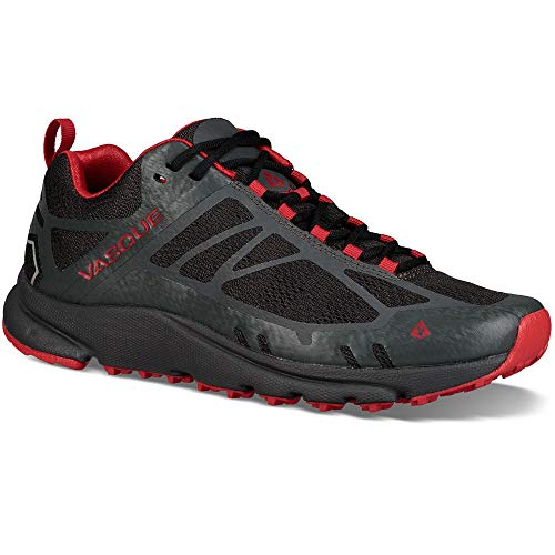 Vasque Men's Constant Velocity II Trail Running Shoes Magnet/True Red 12 ()
