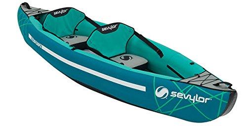 - Sevylor Waterton Inflatable Kayak - Blue