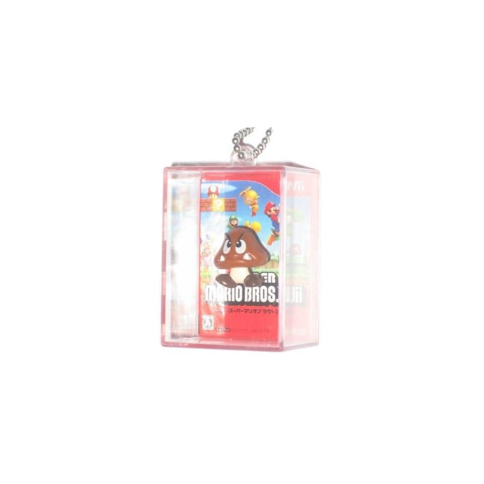 Nintendo Super Mario Bros. Figure In Box Goomba Keychain