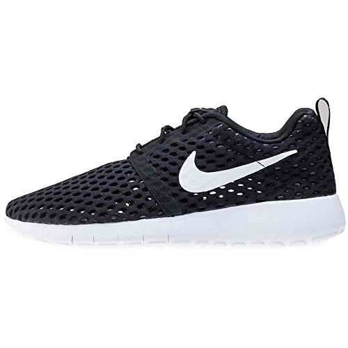 Nike Jungen Roshe One Flight Weight Gs Trainingsschuhe Blanco (Black / White)