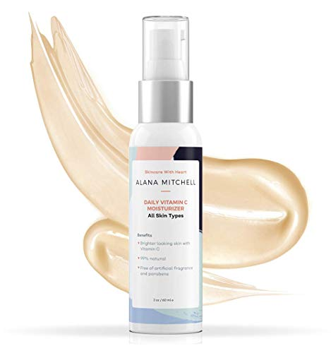 Anti Aging Vitamin C Serum For Face 2oz Facial Moisturizer Cream For Dry Skin, Anti Wrinkle, and Fine Lines Use As Day Serum or Lotion For Moisturizing All Skin Types w/Organic Natural Ingredients