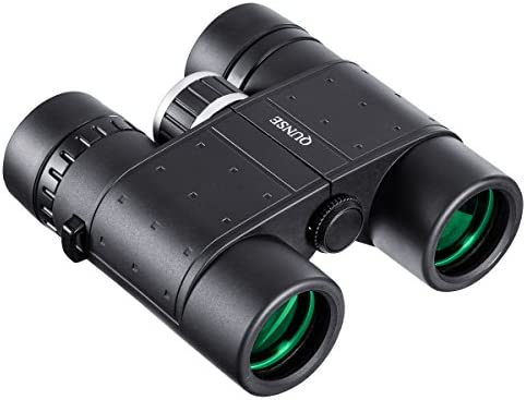 QUNSE Binoculars Compact for Adults and Kids, 8X32 Lightweight Clear View for Bird Watching, for Hunting, for Outdoor Sports Games and Concerts