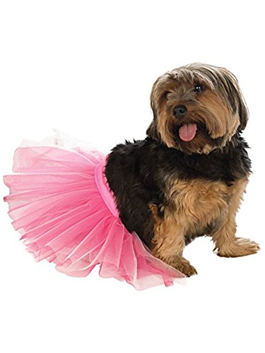 Rubie's Pet Tutu, Pink, Small/Medium ()