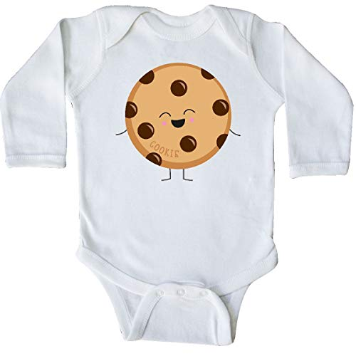 inktastic - Cookie Costume Long Sleeve Creeper 6 Months White 31d11