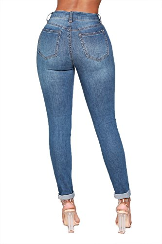 Ybenlover Bleu Bleu Ybenlover Ybenlover Jeans Femme Jeans Jeans Femme q7xw6B