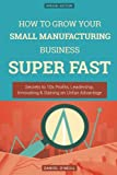 img - for How To Grow Your Small Manufacturing Business SUPER FAST: Secrets to 10x Profits, Leadership, Innovation & Gaining an Unfair Advantage book / textbook / text book