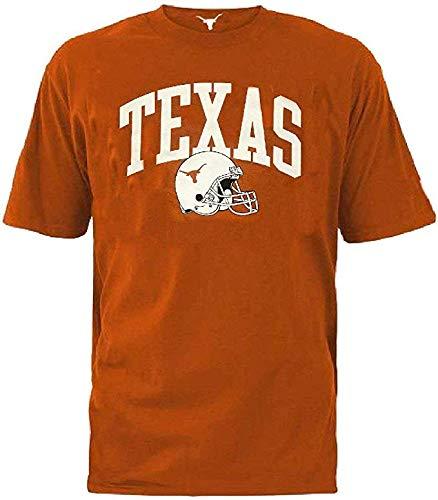 289c Apparel Texas Longhorns UT Orange Vault Helmet Short Sleeve T Shirt ... (X-Large) ()