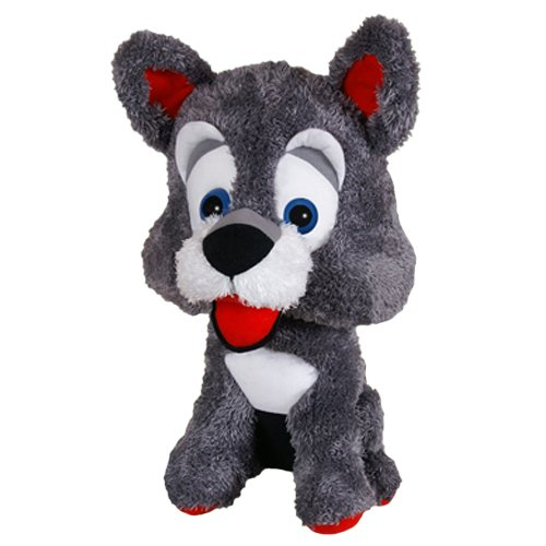 ToySource Nog Mutt The Dog Plush Collectible Toy 31 Gray 31 RetailSource Ltd 7-399-Gra
